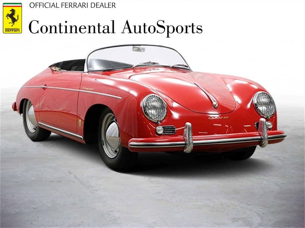 Pre-Owned 1956 Porsche 356 Speedster Roadster