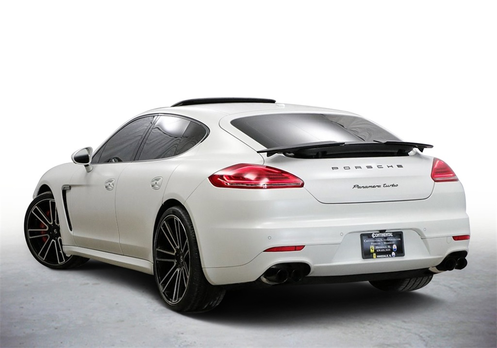 Pre-Owned 2014 Porsche Panamera Turbo