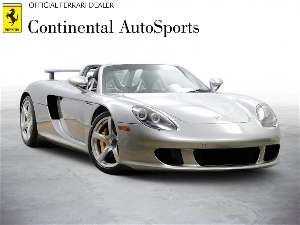 Pre-Owned 2005 Porsche Carrera GT Base