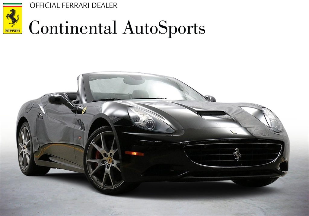 Certified Pre-Owned 2014 Ferrari California Base