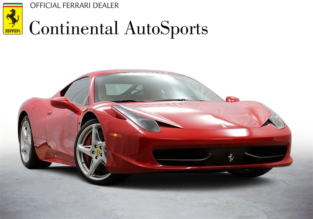 Certified Pre-Owned 2014 Ferrari 458 Italia Base