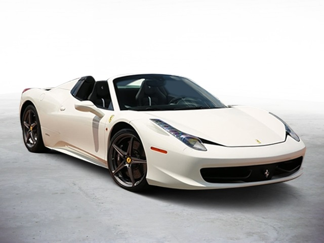 Pre Owned 2014 Ferrari 458 Spider Base 2d Convertible In Hinsdale