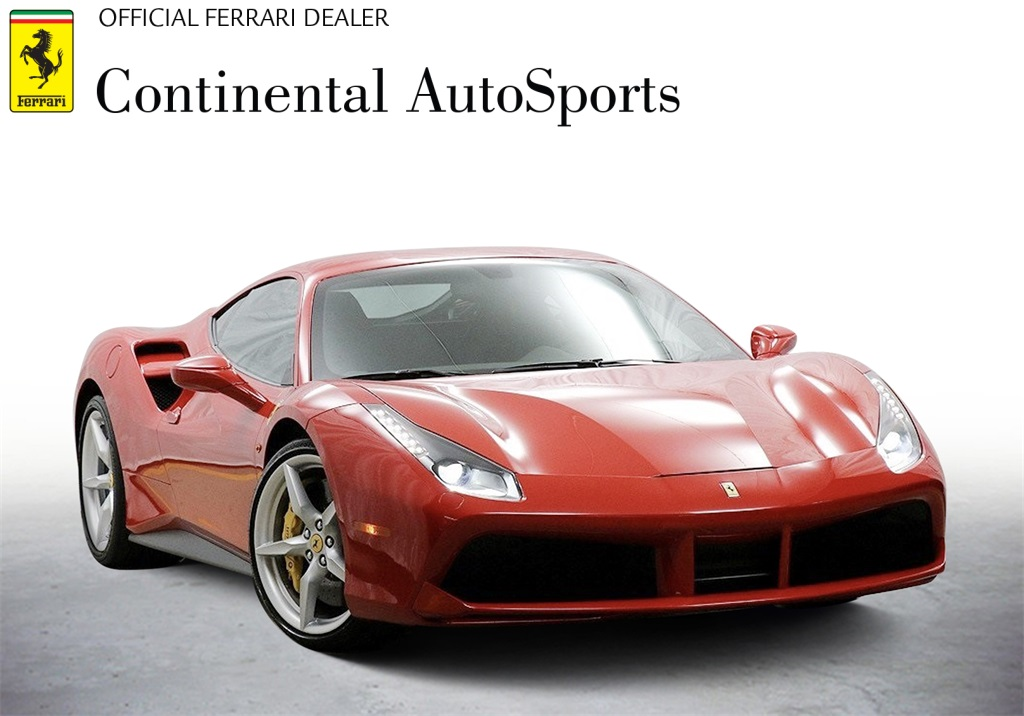 Certified Pre-Owned 2019 Ferrari 488 GTB Base With Navigation