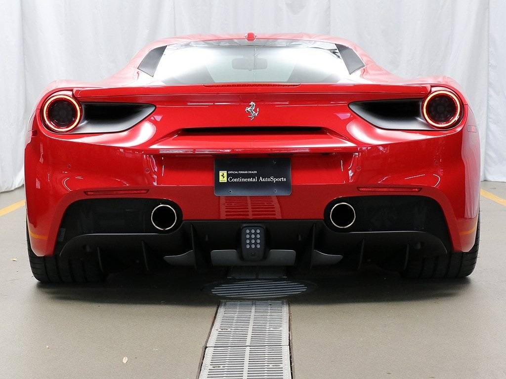 Certified Pre-Owned 2018 Ferrari 488 GTB Base