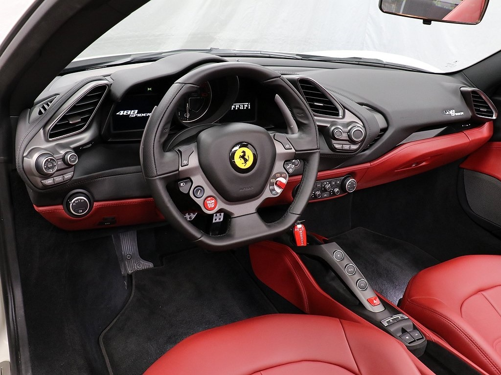Certified Pre-Owned 2018 Ferrari 488 Spider Base