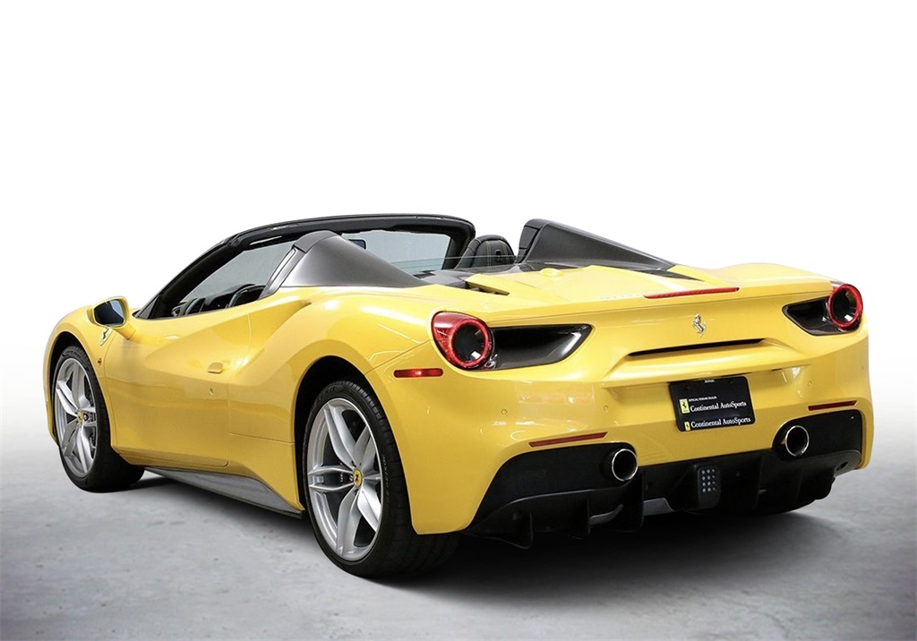 Certified Pre-Owned 2017 Ferrari 488 Spider Base