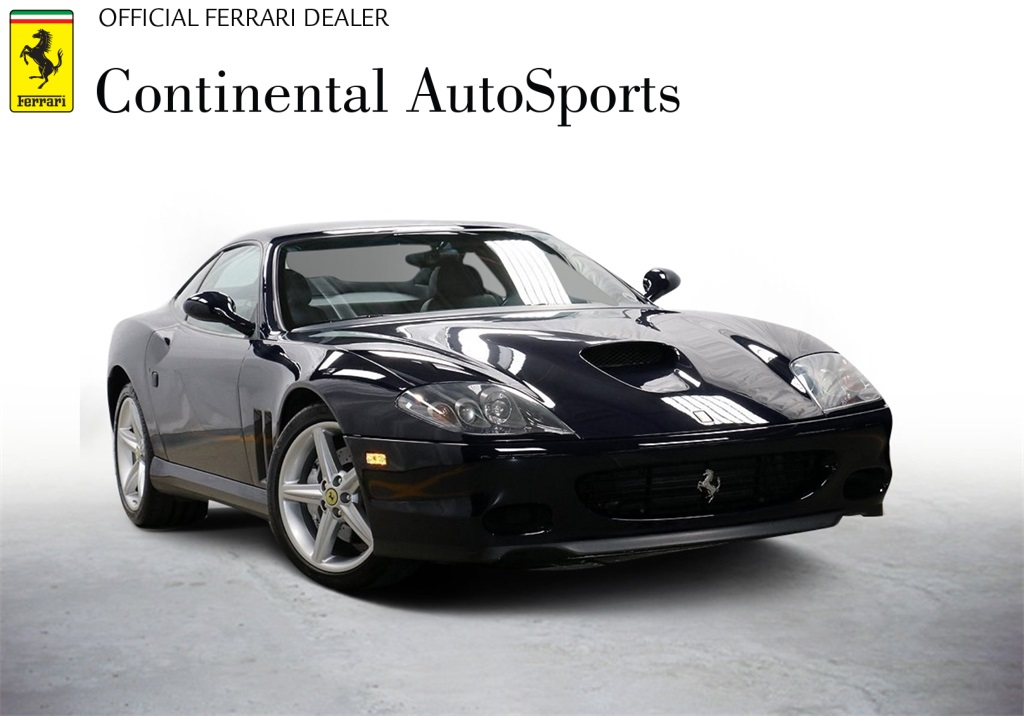 Pre-Owned 2002 Ferrari 575M Maranello RWD 2D Coupe