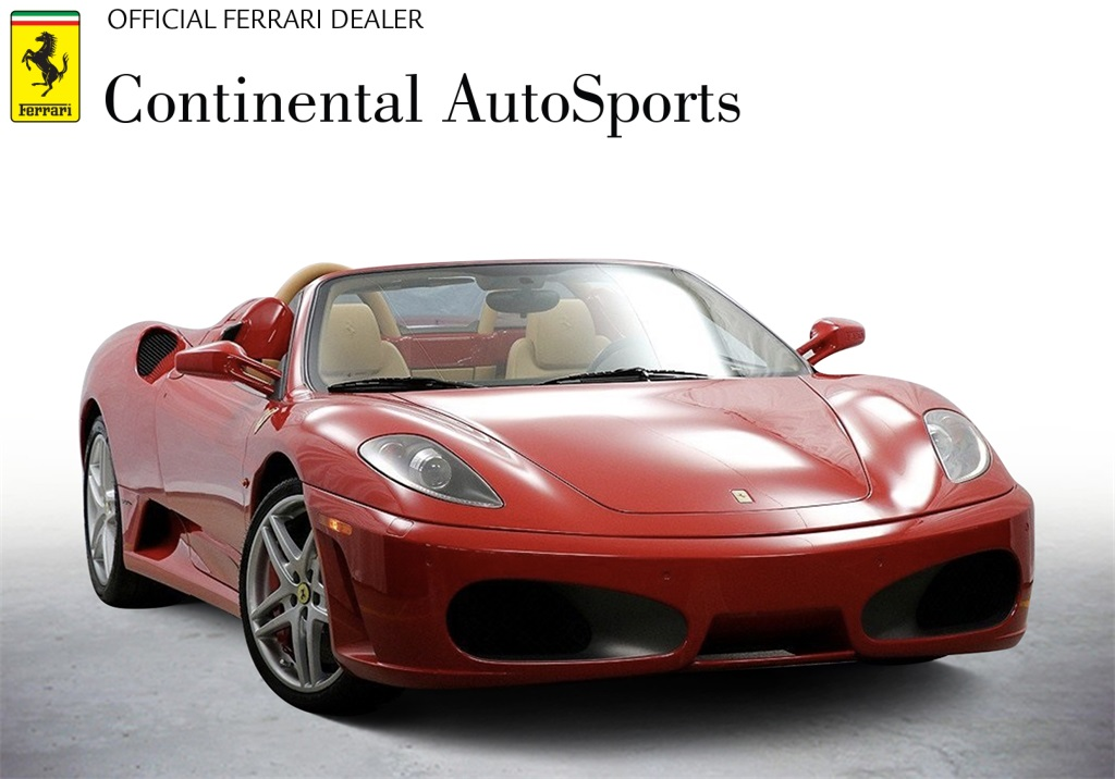Certified Pre-Owned 2007 Ferrari F430 Spider RWD 2D Convertible