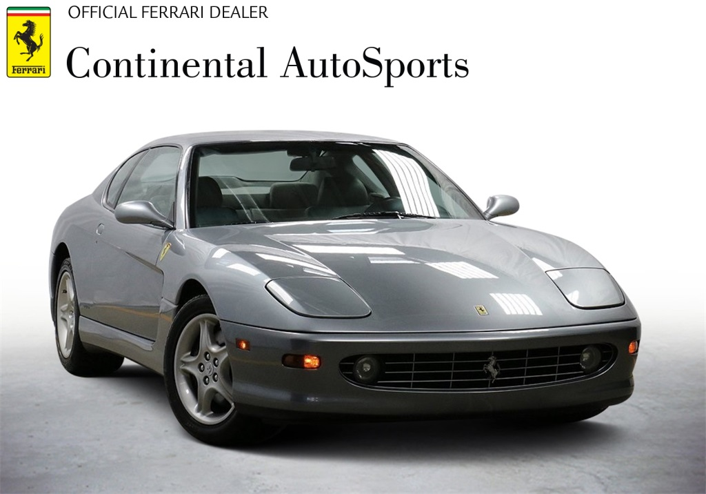 Pre-Owned 1999 Ferrari 456M GTA RWD 2D Coupe