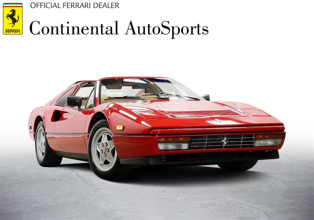 Pre-Owned 1988 Ferrari 328 GTS Convertible