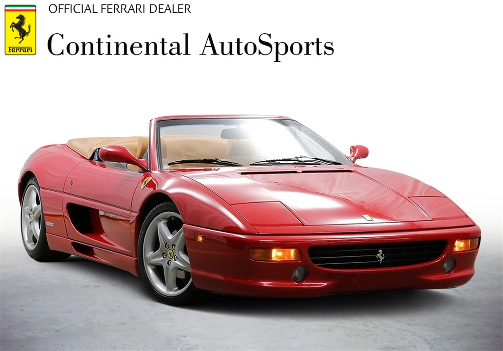 Pre-Owned 1999 Ferrari F355 Convertible