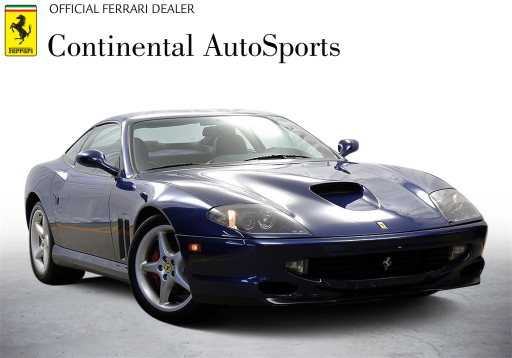 Pre-Owned 2000 Ferrari 550 Maranello RWD 2D Coupe